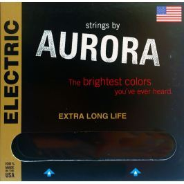 Aurora Premium Acoustic Guitar Strings 13-56 Clear