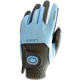 Zoom Gloves Weather Charcoal-Light Blue Ladies