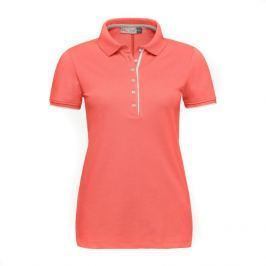 Kjus Women Sanna Polo S/S Hot Coral 36