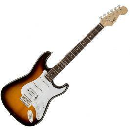 Fender Squier Bullet Strat with Tremolo HSS IL Brown Sunburst