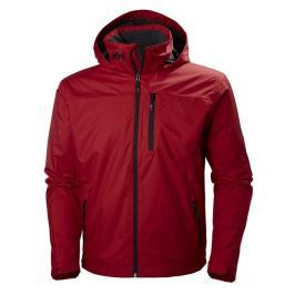 Helly Hansen CREW HOODED MIDLAYER JACKET - RED - L