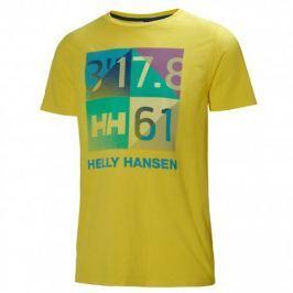 Helly Hansen Marstrand T-Shirt - YELLOW - M