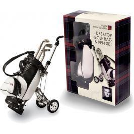 Longridge Colin Montgomerie Desktop Golf Bag And Pen Set