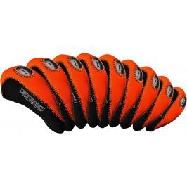 Longridge Eze Iron Covers 10Pcs Black/Orange