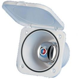 Nuova Rade Top-Line Case w/ Mixer Tap, w/Lid White