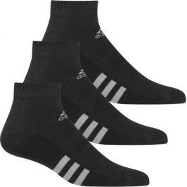 Adidas 3-Pack Ankle Black Mens 6-10