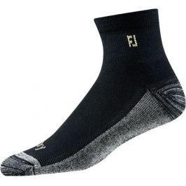 Footjoy ProDry Quarter Black Socks Mens