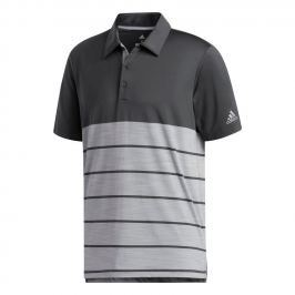 Adidas Ultimate365 Heathered Block Polo Carbon M
