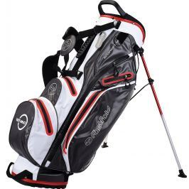 Fastfold Waterproof Stand Bag Grey/White/Red