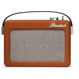 Ricatech PR78 Emmeline Vintage Radio Cognac Brown