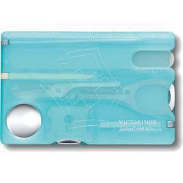 Victorinox SwissCard Nailcare Iceblue Translucent
