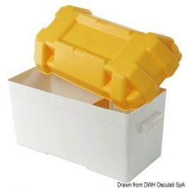 Osculati Battery box white/yellow moplen 120 A