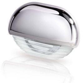 Hella White LED Easy Fit Gen 2 Step Lamp 12-24V DC Series 8560, Chrome Plated Plastic Cap