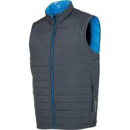 Sunice Men Michael Reversible Vest Charcoal/Vibrant Blue XL