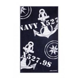 Marine Business Freestyle Navy Towel w/ Pillow
