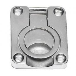 Osculati Heavy duty pull latch w/ring AISI 316