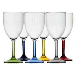 Marine Business PARTY Water/wine glass -coloured base set
