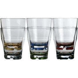 Marine Business PARTY Stackable water glass - coloured base set