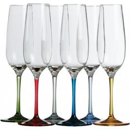 Marine Business PARTY Champagne flute -coloured base set