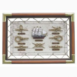Sea-club Knot board 47x33cm