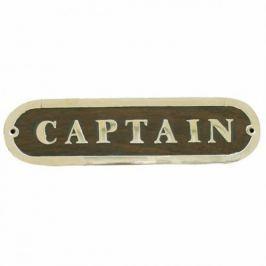 Sea-club Door name plate - CAPTAIN