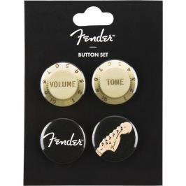 Fender Genuine 4-Pack Button Set