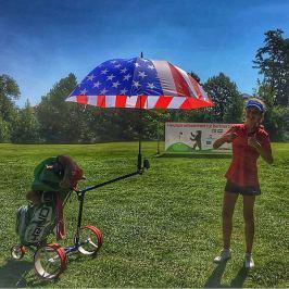 Jucad Umbrella with Pin USA