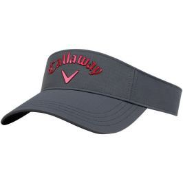 Callaway Visor Adjustable Charcoal/Red 2018