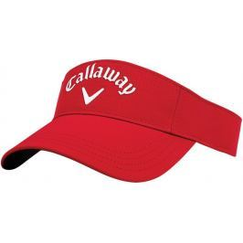 Callaway Visor Adjustable Red/White 2018