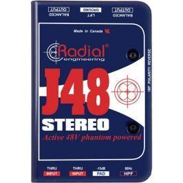 Radial J48 Stereo Phantom Powered Active Direct Box (B-Stock) #909425