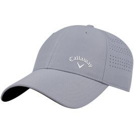 Callaway Opti Vent Structured Ladies Adjustable Golf Cap Silver/White 2018