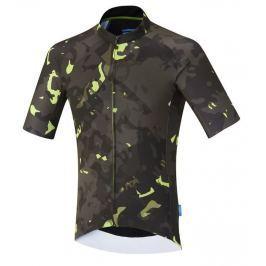 Shimano Breakaway Short Sleeve Jersey Neon Lime XXL