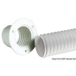 Osculati Flexible PVC hose white roll 10 m