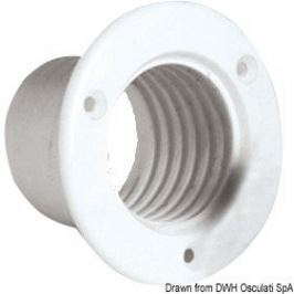 Osculati Bush to joint pipe white plastic