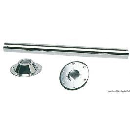 Osculati Table leg 70 cm chrome-plated steel