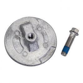 Quicksilver Aluminium trim tab anode plate Merc Alpha 2 / 97-76214Q5