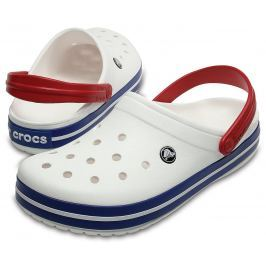 Crocs Crocband White/Blue Jean 45-46