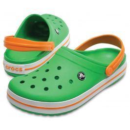 Crocs Crocband Clog Green/White/Blazing Oran 42-43