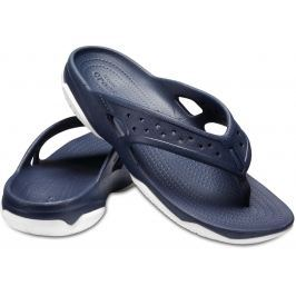 Crocs Swiftwater Deck Flip Men Navy/White 46-47