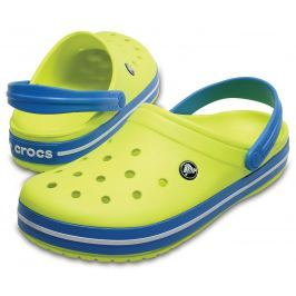 Crocs Crocband Clog Unisex Adult Tennis Ball Green/Ocean 36-37