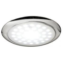 Osculati Ultra-flat LED light chromed ring nut 12/24 V 3 W