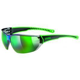 UVEX Sportstyle 204 Black Green-Mirror Green S3
