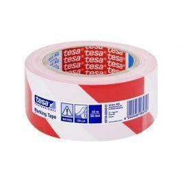 TESA Floor Marking Tape 60760 Red-White 50 mm x 33 m
