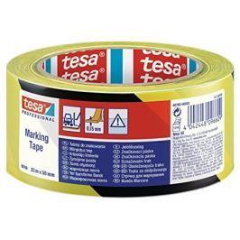 TESA Floor Marking Tape 60760 Yellow-Black 50 mm x 33 m