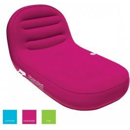 Airhead Inflatable Chaise Lounge 1 Person raspberry rose