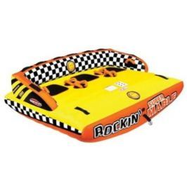 Sportsstuff Towable Rockin Mable 3 Persons Yellow/Orange/Black