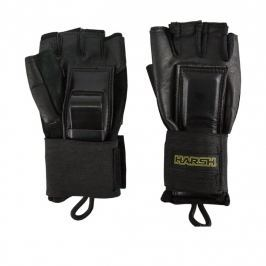 Harsh Pro Protection Wrist Guards for Adults size L black