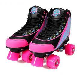 Luscious Skates Disco Diva size 37 black/pink