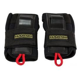 Harsh Roller Derby Protection Wrist Guards for Adults size S black