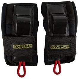 Harsh Roller Derby Protection Wrist Guards for Adults size L black
